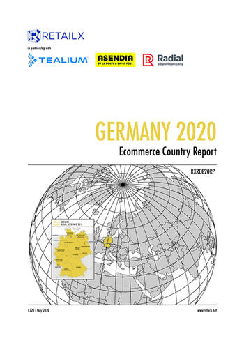 Germany 2020 Ecommerce Country Report - cover