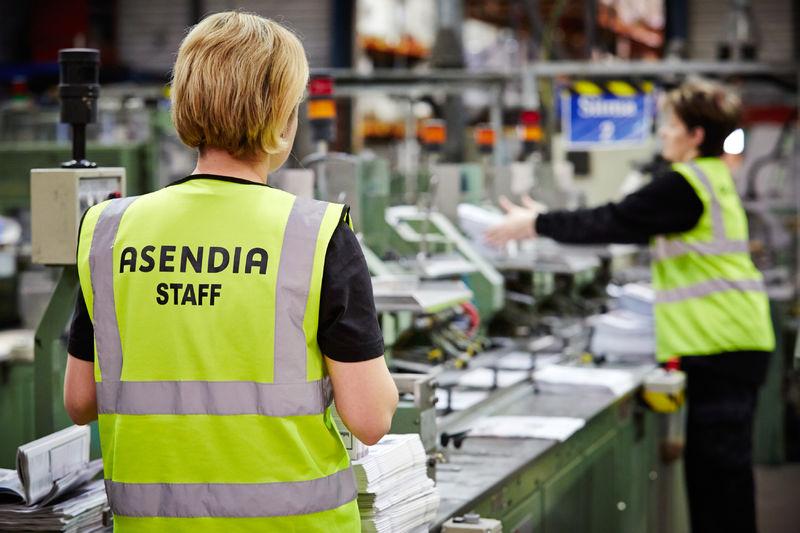 Asendia staff printing